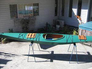 Wooden Sea Kayak For Sale - $600 (Gabriola Island)