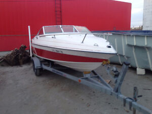 Wellcraft 195 with Inboard/outboard Mercruiser