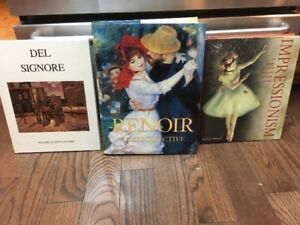 Beautiful Hard Cover Art Books $10 EACH OR LESS