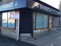 TO LET RETAIL SHOP BRADFORD