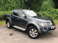 2007 Mitsubishi L200 2.5 DI-D Warrior Double Cab Pickup 4WD 4dr PICKUP in G(...)