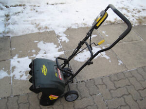 Yardworks 9A Electric Snow Shovel.