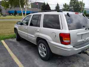 Parting out 2004 Jeep Grand Cherokee 4.7L