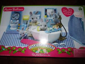 Calico Critter Bathroom set