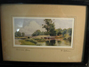 REDUCED - Signed and numbered print by F. Robson.