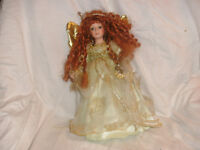 Adorable Red-Headed Fairy Doll