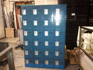 6 tier lockers; Metal lockers; School lockers