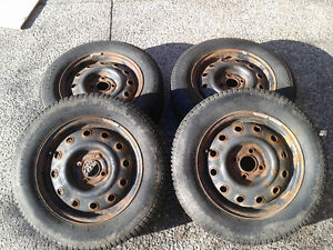 Winter Tires and Rims $250 obo