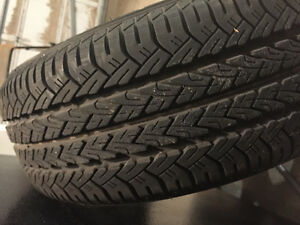 Four Tires on Aluminum Rims P185/60R/15 Kitchener / Waterloo Kitchener Area image 5