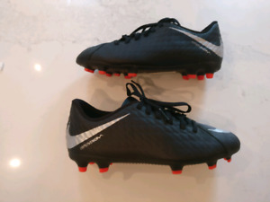 Nike youth soccer cleats - size 3