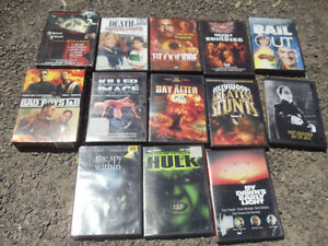 DVD Movies - 3 for $5 - Horror and Action