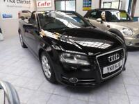 2011 AUDI A3 TDI CABRIOLET EDITION £30 TAX ** CONVERTIBLE DIESEL