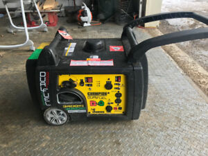 Portable generator 3400 bought this summer, very little use,
