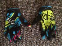 Fox Mx gloves £12