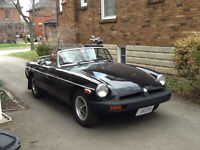 75 MGB in excellent condition