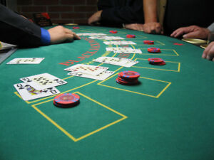 black jack and poker dealing course