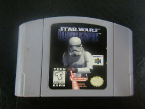 Jeux video Nintendo 64, mario, yoshi, diddy kong et autres
