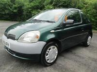 01/51 TOYOTA YARIS 1.0 VVTI 3DR HATCH IN GREEN (P/X TO CLEAR / IDEAL FIRST CAR)