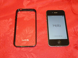 IPhone 4 16GB UNLOCKED with JETech case!