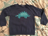 John Lewis boys knitted jumpers 9-12m & 12-18m