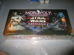 Star Wars Episode One Monopoly