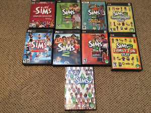 SIMS COLLECTION FOR SALE