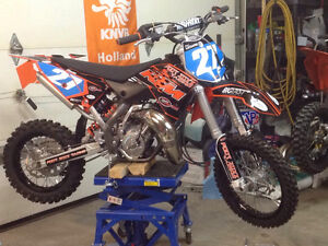 2015 KTM 65  with 38 hrs