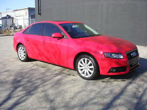 2011 Audi A4 Sedan 2.0T QUATTRO***WE FINANCE EVERYONE!!***