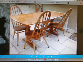 EROL Kitchen table and 4 chairs