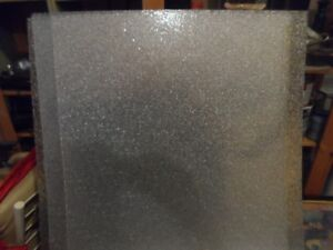 4 -Frosted 2 ft by 2 ft ceiling panels (for lighting)