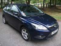 Ford Focus 1.6 ( 100ps ) auto 2011Zetec+12 MONTHS WARRANTY + 12 MONTHS MOT