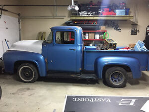 1956 ford f-100 shortbox step side