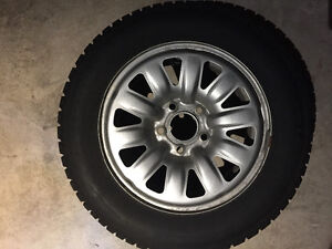 Winter Tires and Rims 195/65R15