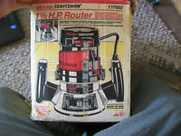1.5 HP Router with Bits