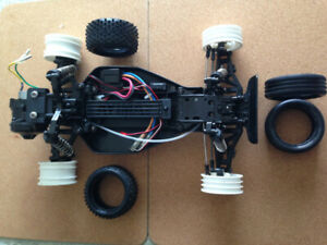 Tamiya DT-02 RC Chassis, Spektrum DX3e Radio, Onyx Charger etc