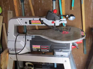 Craftsman Scroll Saw 20 inch Professional With Stand  $285