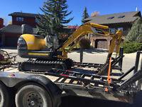 Mini Excavator Services
