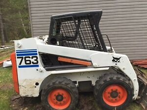 Bobcat 763 skid steer