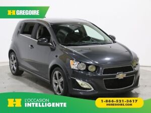 2015 Chevrolet Sonic RS TURBO AUTO A/C CUIR TOIT MAGS CAMERA DE