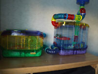 hamster cages and acceseries