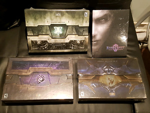 Starcraft 2 collectors edition all 3