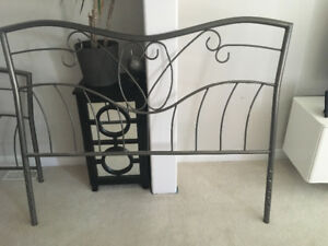 Queen Size Bed Frame, metal, from Structube