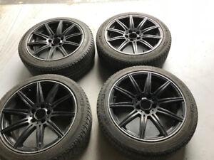 Mercedes-Benz AMG Mags 18 pouces & pneus Michelin 225/45r18