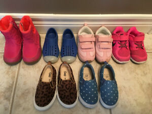 Girls Shoes Size 6 & 7