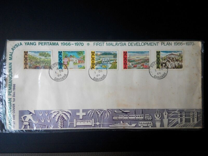 ~~Vintage Early Malaysia stamps cover~~