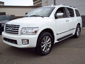 "2010 INFINITI QX56 ""Luxury"" with only 123500km! Fully Loaded!"