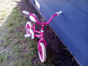 Marty's toddler's bike