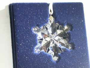 "Swarovski Crystal Figurine-"" Little Snowflake Ornament "" #9400NR Kitchener / Waterloo Kitchener Area image 4"