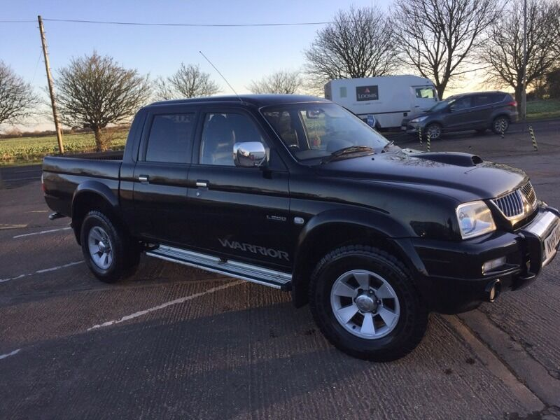 mitsubishi l200 4x4 2005 diesel pick up mot till october 2017 in alford lincolnshire gumtree. Black Bedroom Furniture Sets. Home Design Ideas