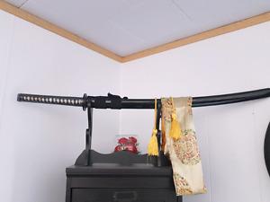 Authentic samurai sword .